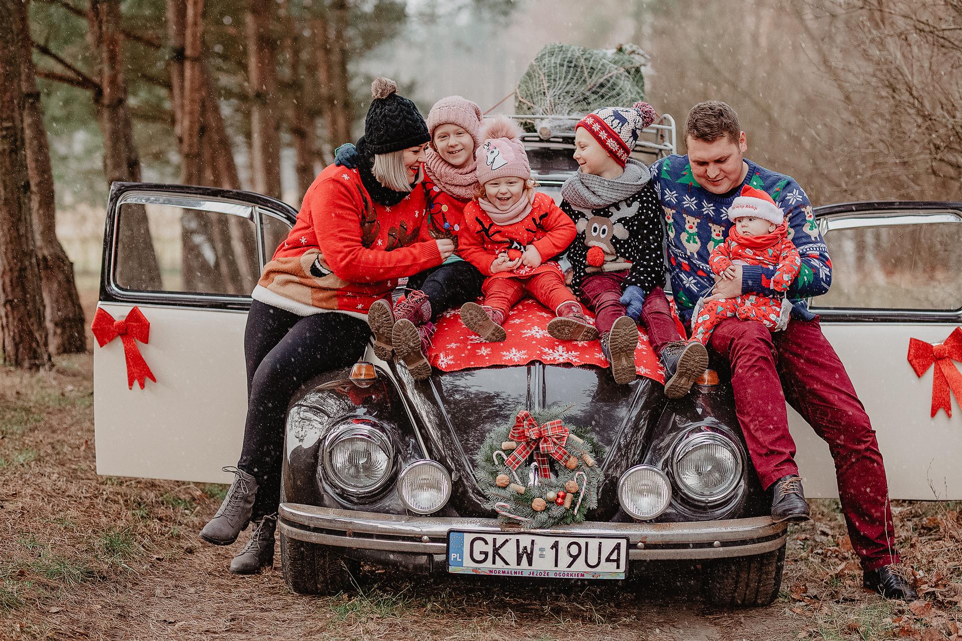 Sesja świąteczna Paulina Czeszejko